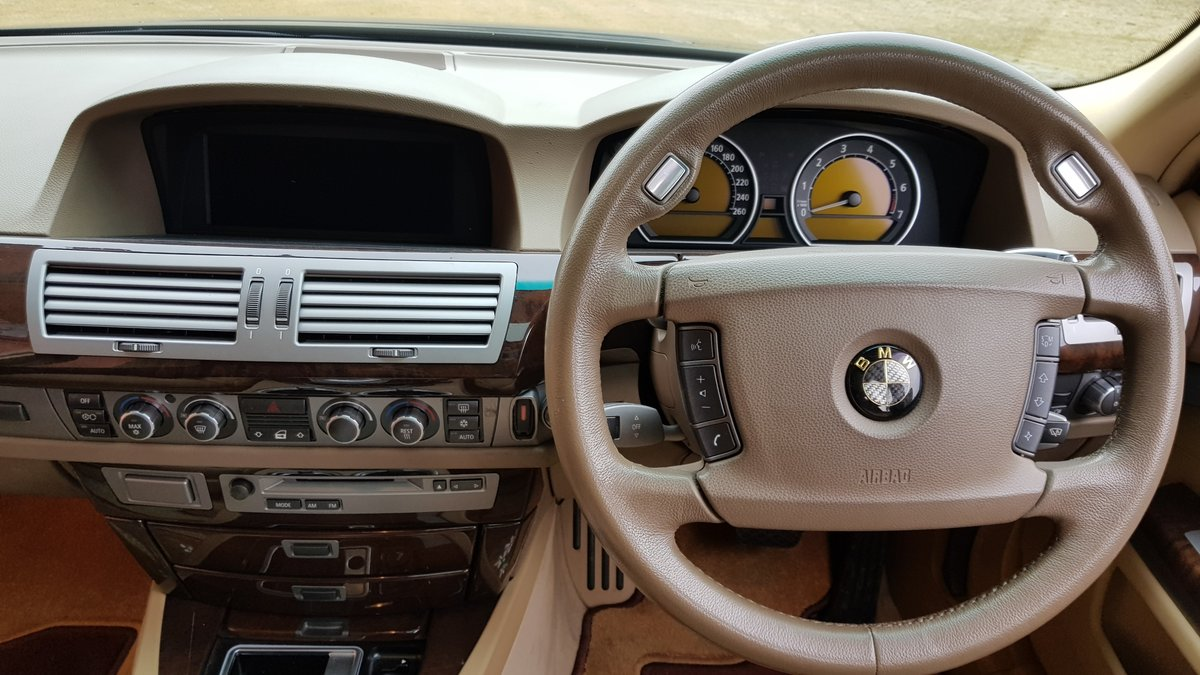 2006 BMW 7 SERIES 750li 4.8 AUTOMATIC LWB * VERY HIGH SPEC * For Sale (picture 5 of 6)