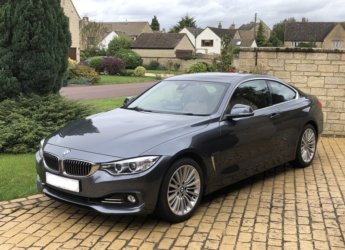 2014 BMW 4 series 435i Luxury,M-Sport Active suspension For Sale (picture 1 of 3)