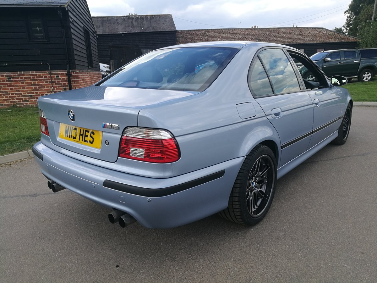 2001 The Most Outstanding BMW E39 M5 Saloon .Virtually As New FSH SOLD (picture 1 of 6)