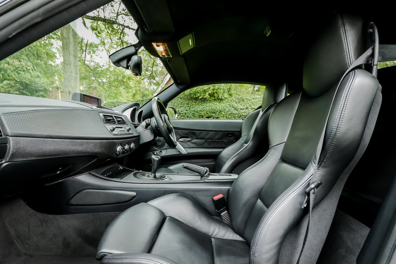 2006 BMW Z4M Coupe Sapphire Black with Inspection II Service For Sale (picture 5 of 6)
