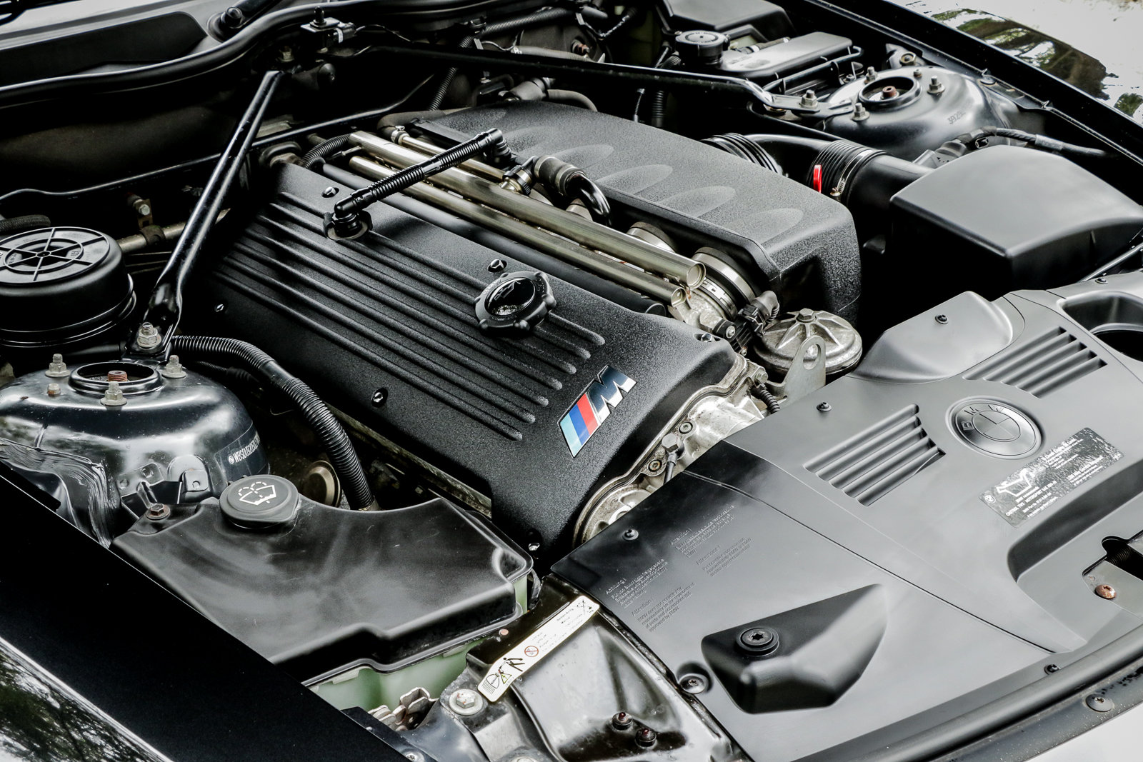 2006 BMW Z4M Coupe Sapphire Black with Inspection II Service For Sale (picture 6 of 6)