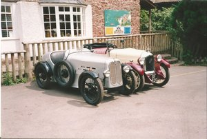 1929 BMW Austin 7 Fitted with JHLE sports600 body
