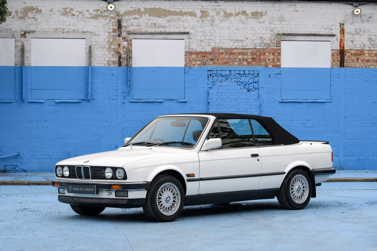 1990 BMW E30 320i Convertible Automatic For Sale (picture 2 of 10)