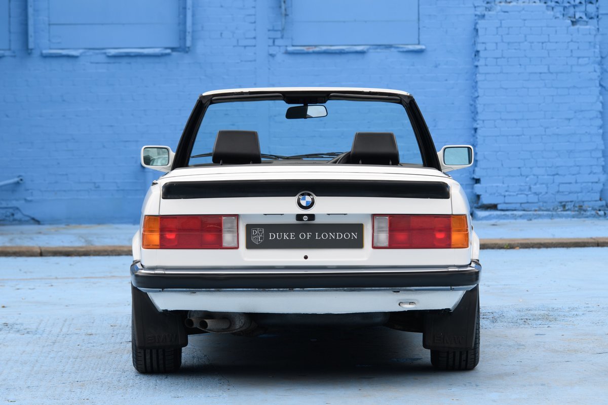 1990 BMW E30 320i Convertible Automatic For Sale (picture 4 of 10)