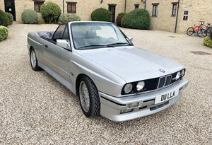 1991 BMW M3 E30 Cabriolet For Sale by Auction