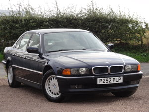1997 BMW E38 728i, 1 Lady Owner, 70k Miles, Orient Blue, MOT: Jul For Sale