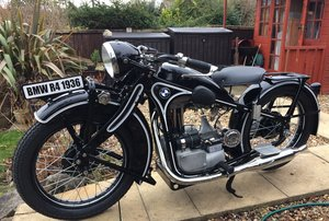 1936 BMW R4 Rare Historic Immaculate Condition For Sale