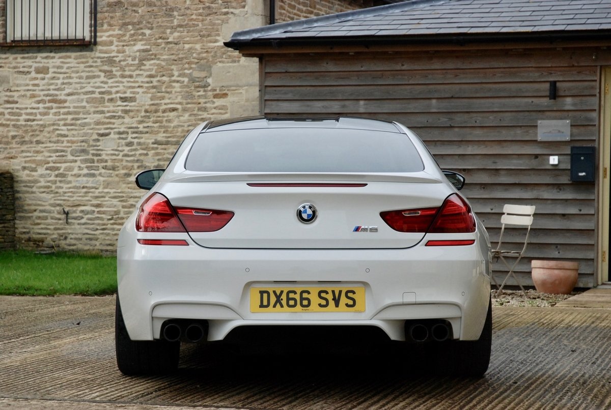 2016 BMW M6 4.4 DCT COUPE For Sale (picture 3 of 6)