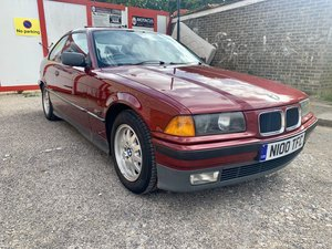 1996 Bmw e36 323i calypso red coupe
