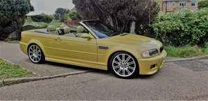 2004 Beautiful M3 convertible , Pheonix Yellow with Kiwi For Sale
