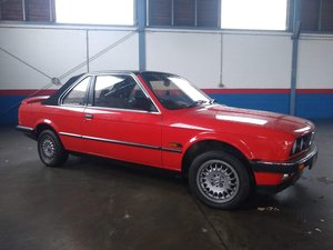 1983 BMW 323i Baur Convertible for auction