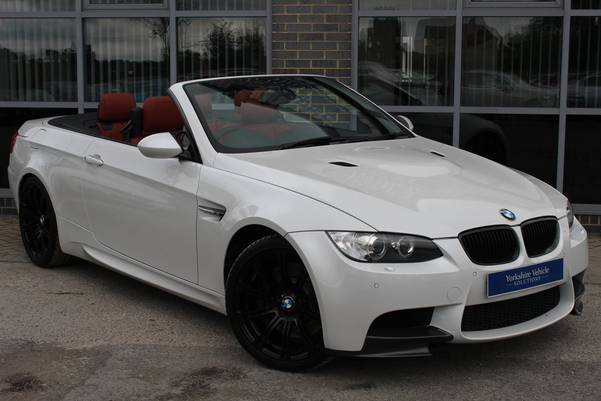 2012 62 BMW M3 4.0 V8 LIMITED EDITION 500 CONVERTIBLE DCT ...