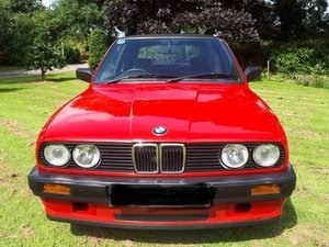 1988 BMW E30 316 Baur Cabriolet at ACA 2nd November