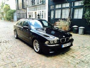 2001 BMW 530i M sport Petrol in Cosmos Black