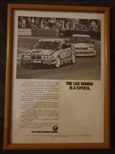 1992 BMW 318is Advert Original