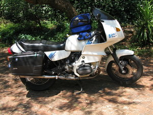 "1988  BMW R100RS ( R 100 RS ),""mono-lever"""