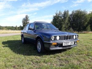 1986 BMW 325i SE  4door