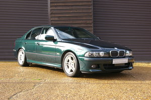 2000 BMW E39 540i V8 M-Sport Saloon Automatic (43,902 miles) For Sale