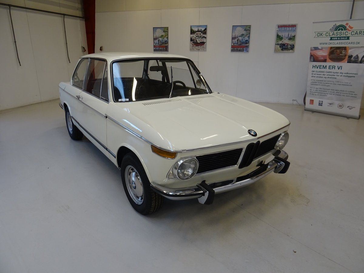 1972 BMW 2002 Tii – Matching numbers - Restoratored For Sale | Car And Classic