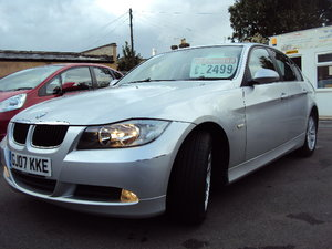 2007 BMW 320D SE Auto E90 – Nice Spec With 2 Former Keepers + MOT For Sale