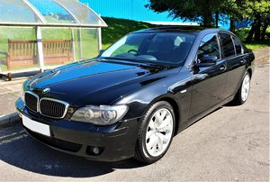 BMW 730D SPORT BLACK WITH BLACK SPORTS SEATS MOT JUNE 2020