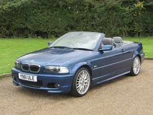2001 BMW E46 330Ci Sport Convertible at ACA 2nd November