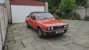 1984 BMW E30 318 BAUR CABRIOLET For Sale