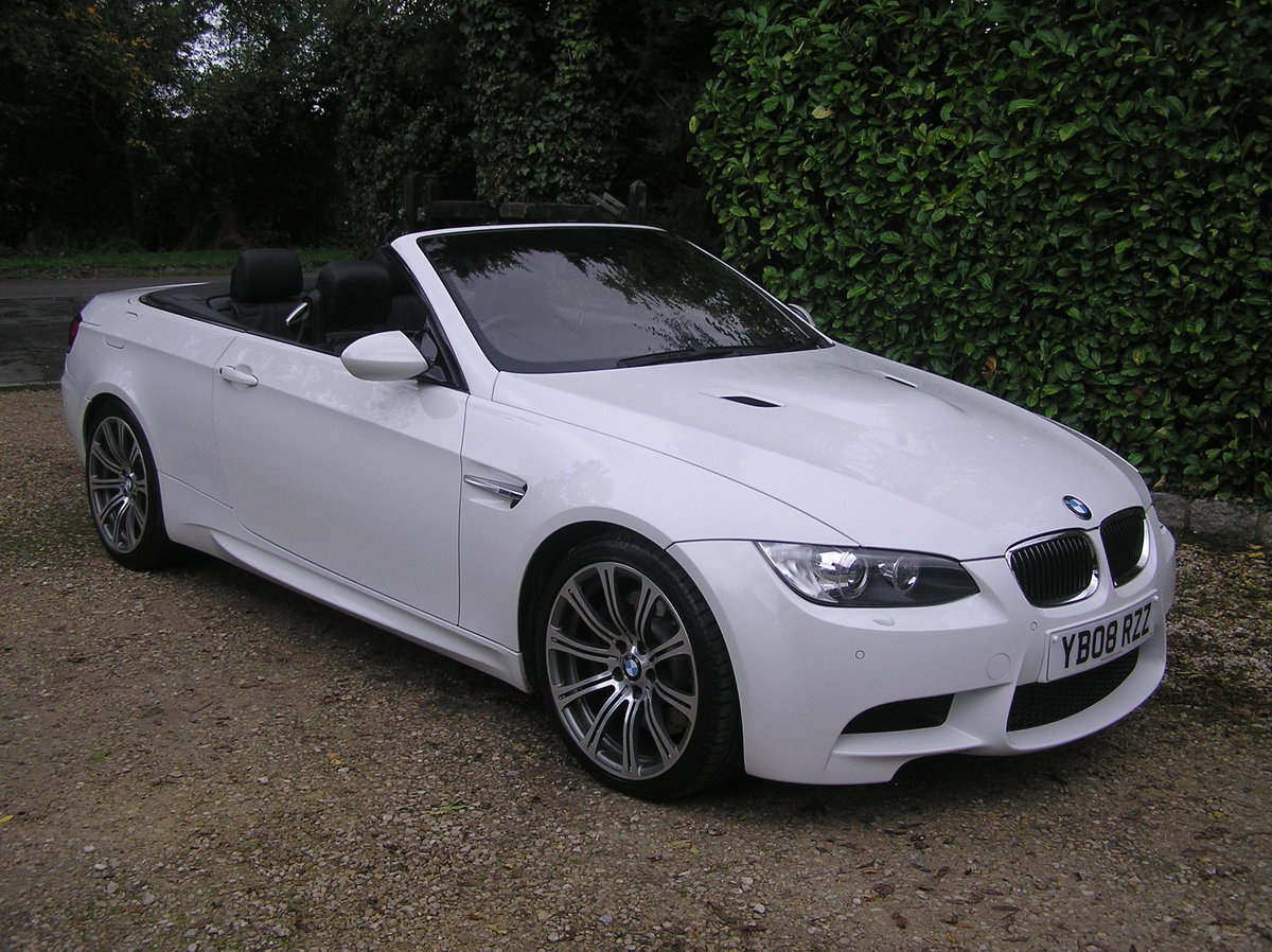 2008 BMW M3 4.0 V8 M DCT auto convertible For Sale | Car ...