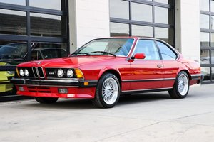 1987  BMW M6  Coupe 5 Speed Fresh Clutch Red(~)Tan $43.5k