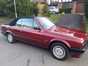 1991 BMW 318i E30 Convertible  For Sale