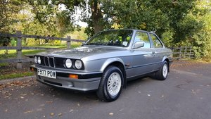 1989 BMW E30 316i Manual 2dr Lachs Silver ONLY 71k miles  For Sale