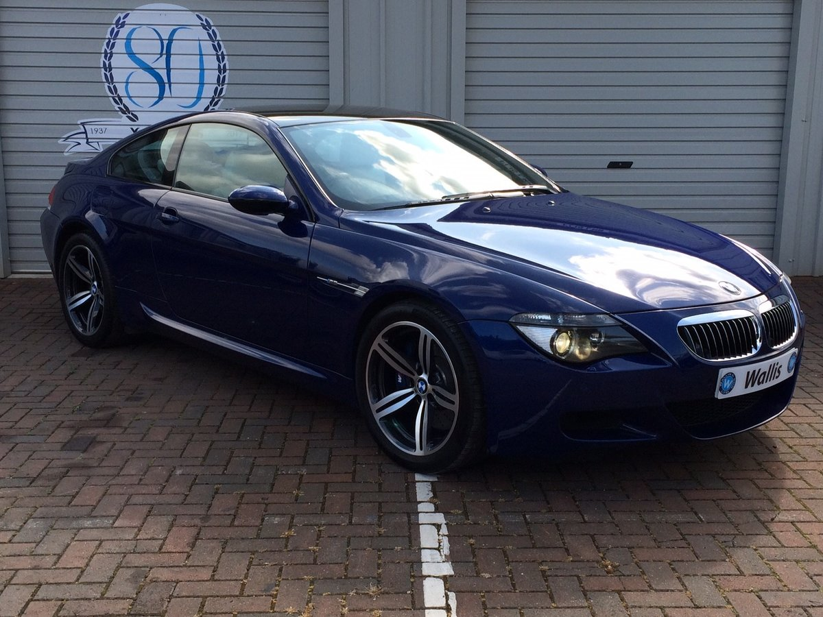 2005 BMW M6 5.0 V10 SMG 2dr For Sale (picture 1 of 6)