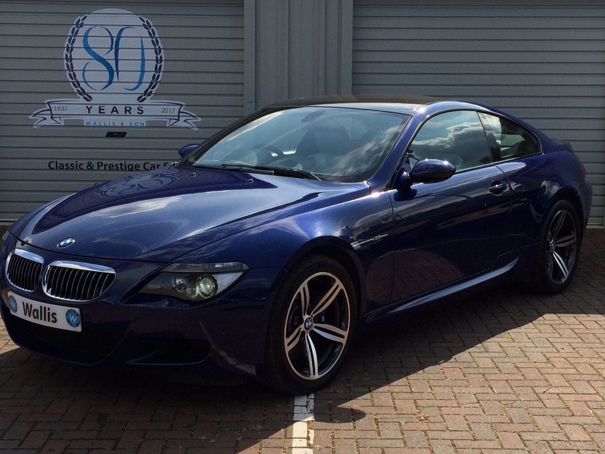 2005 BMW M6 5.0 V10 SMG 2dr For Sale (picture 2 of 6)