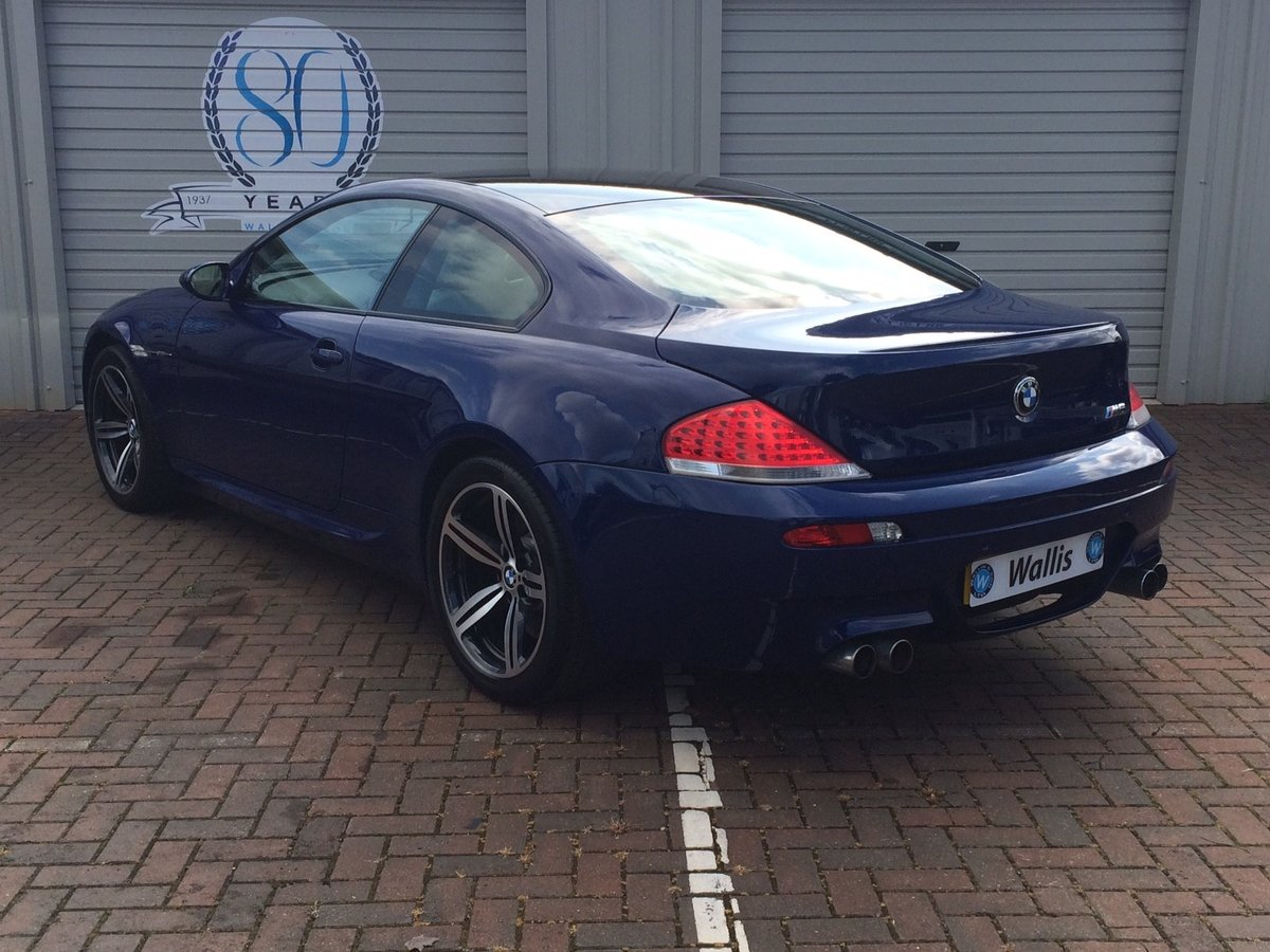 2005 BMW M6 5.0 V10 SMG 2dr For Sale (picture 3 of 6)