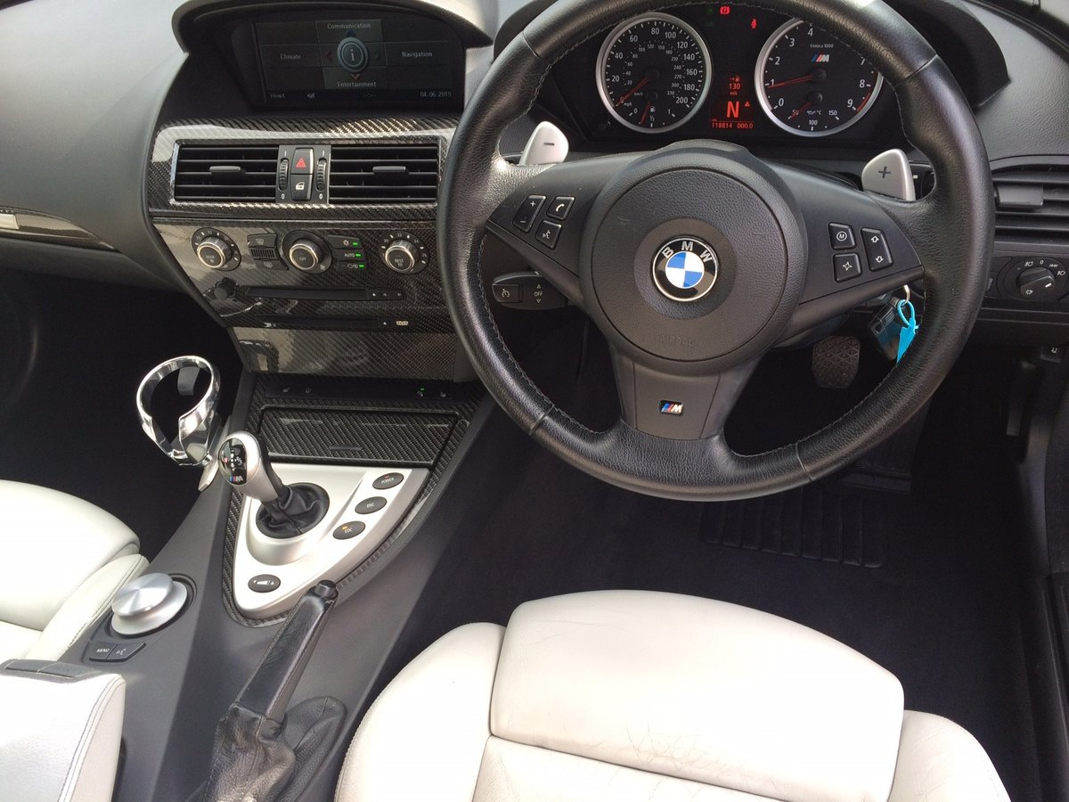 2005 BMW M6 5.0 V10 SMG 2dr For Sale (picture 5 of 6)