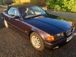 1998 BMW 323i convertible new roof 63k original E36 For Sale