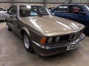 1984 BMW 635 CSI (LHD) For Sale by Auction
