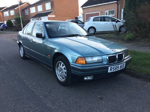 1997 BMW E36 318i SE Manual FSH - Last owner 10 years For Sale