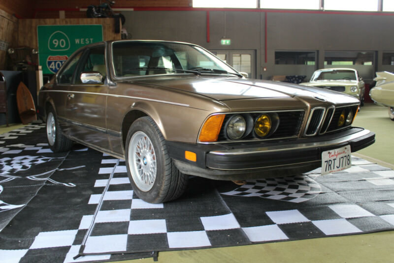 1984 BMW 633CSi - '84 - **CA-Import** For Sale (picture 1 of 6)