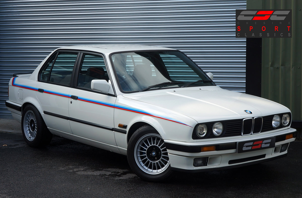 1990 BMW E30 320i Saloon, Manual, 120k, Restored & Upgraded. SOLD (picture 1 of 6)