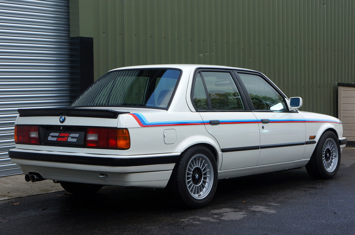 1990 BMW E30 320i Saloon, Manual, 120k, Restored & Upgraded. SOLD (picture 2 of 6)