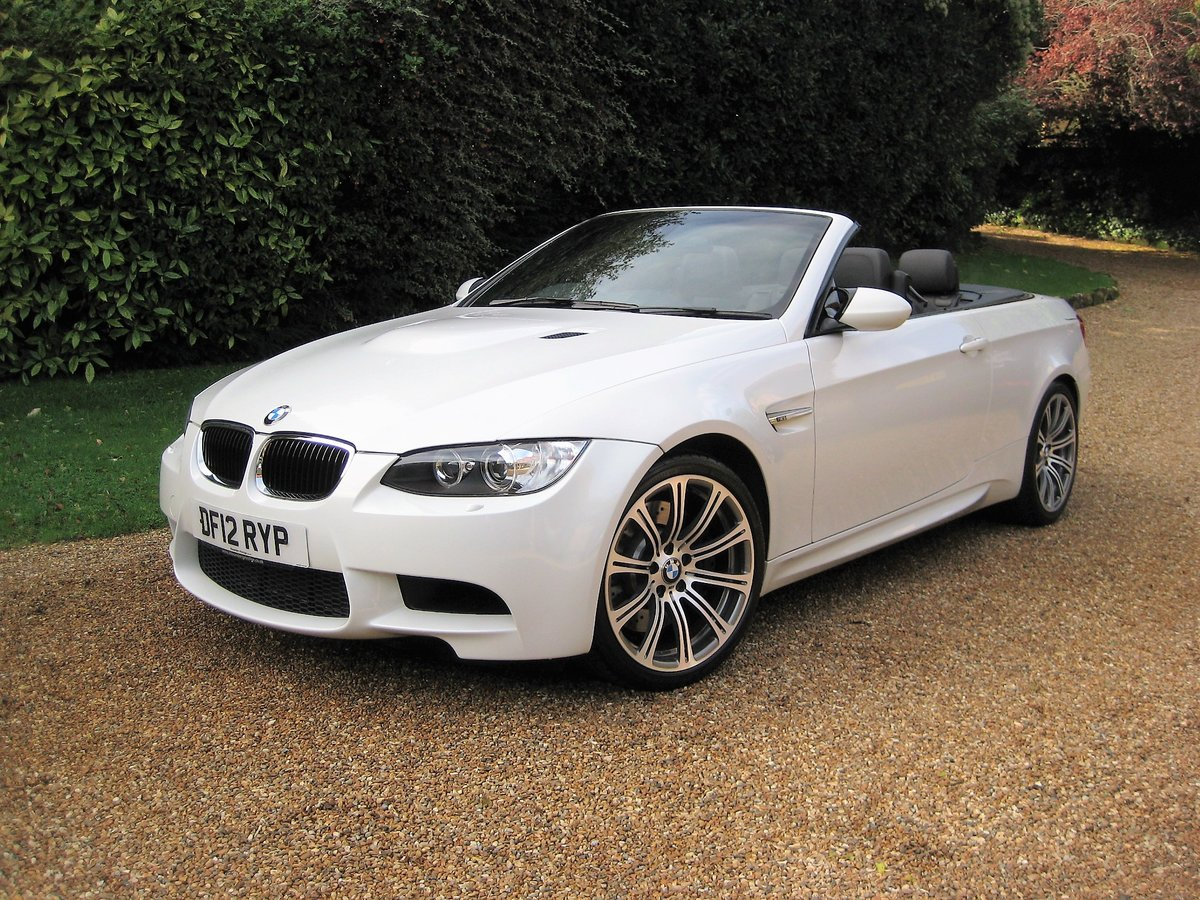 2012 BMW M3 4.0 V8 DCT Convertible With Just 16,800 Miles For Sale (picture 1 of 6)