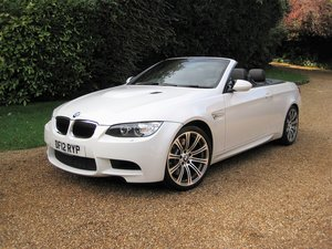 2012 BMW M3 4.0 V8 DCT Convertible With Just 16,800 Miles