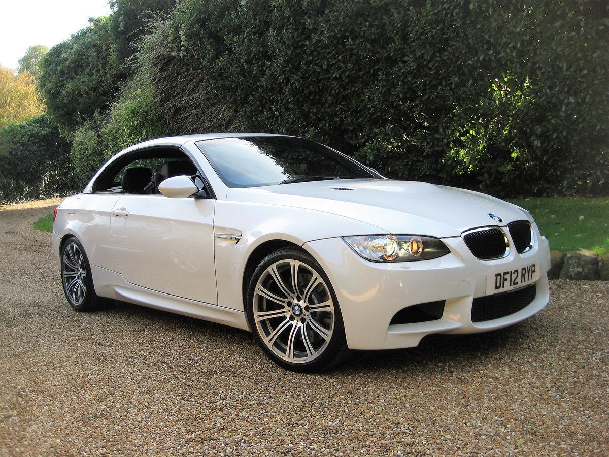 2012 BMW M3 4.0 V8 DCT Convertible With Just 16,800 Miles For Sale (picture 2 of 6)