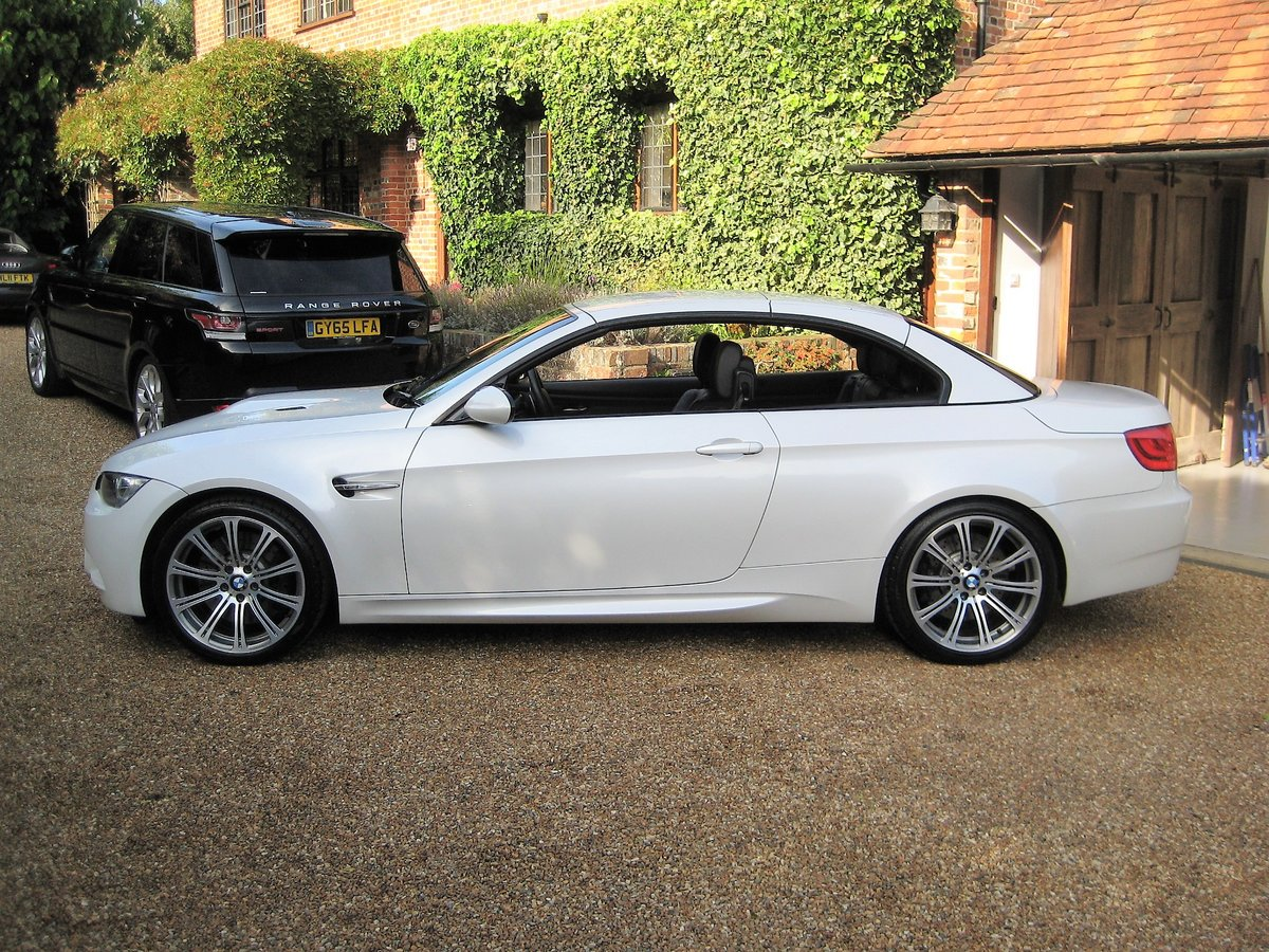 2012 BMW M3 4.0 V8 DCT Convertible With Just 16,800 Miles For Sale (picture 5 of 6)