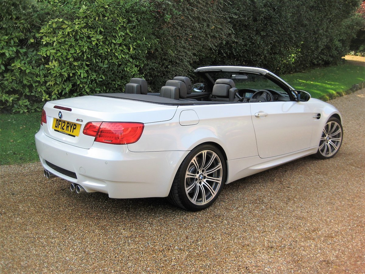 2012 BMW M3 4.0 V8 DCT Convertible With Just 16,800 Miles For Sale (picture 6 of 6)