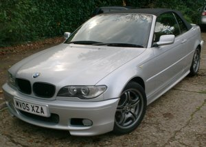BMW 318 2.0 Ci Sport Convertible 2005 For Sale