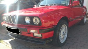 1989 BMW 325i Convertible Red Auto