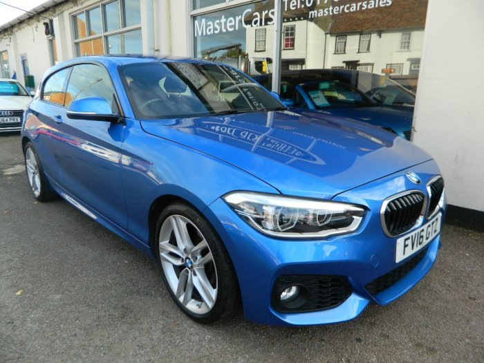 2016/16 BMW 1 SERIES 118i M SPORT STEP AUTO 21864 MILES For Sale (picture 1 of 6)