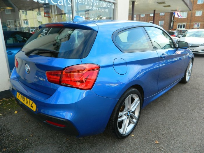 2016/16 BMW 1 SERIES 118i M SPORT STEP AUTO 21864 MILES For Sale (picture 2 of 6)